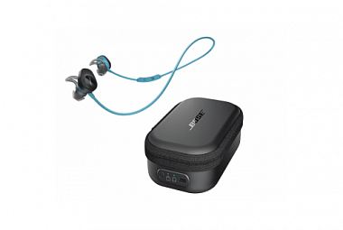 BOSE SoundSport wireless modrá / charging case