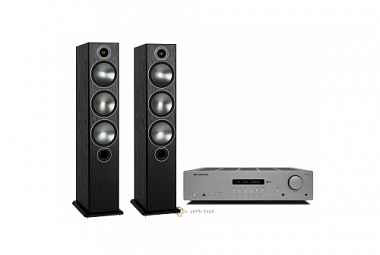 Monitor Audio Bronze 6 + Cambridge Audio AXR100